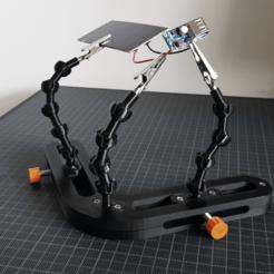 Télécharger fichier 3D Poste de brasage à braser troisième bras, WilliamStadheim