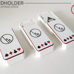 Showcase_02.png Download STL file Playing cards - Case • 3D print template, WilliamStadheim