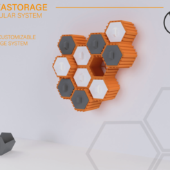 Descargar modelo 3D Hexastorage - Sistema modular de almacenamiento hexagonal, WilliamStadheim