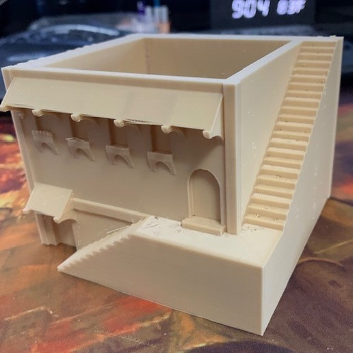 Download free 3D printer model Mini Middle Eastern Villa Planter, christianwilson