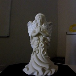Download free STL files Angel Sculpture Scan, Tarnliare