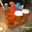 Download free 3D printing files Pill Bottle Rack, Tarnliare