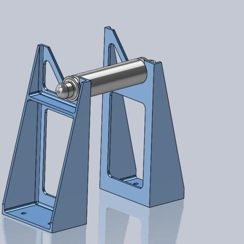 c8dafc057fbb998588901e14cee5ec41_display_large.JPG Download free STL file Universal Spool Mount • 3D printable template, Tarnliare