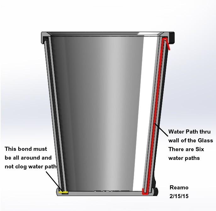 Dribble_Glass_002_display_large.jpg Download free STL file The Dribble Glass • 3D printer template, Tarnliare