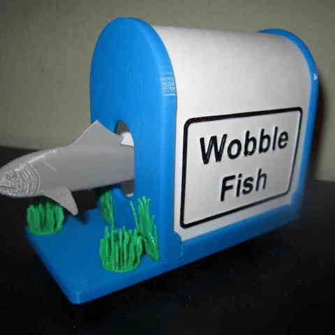 01_Wobble_Fish-First_Finished_Assy_display_large.jpg Télécharger fichier STL gratuit Wobble Fish ! • Design imprimable en 3D, Tarnliare