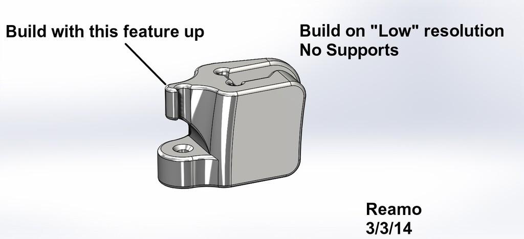 Spool_Tie_Notes_004_display_large.jpg Télécharger fichier STL gratuit Attache de bobine pour bobines de matériau PLA • Objet à imprimer en 3D, Tarnliare