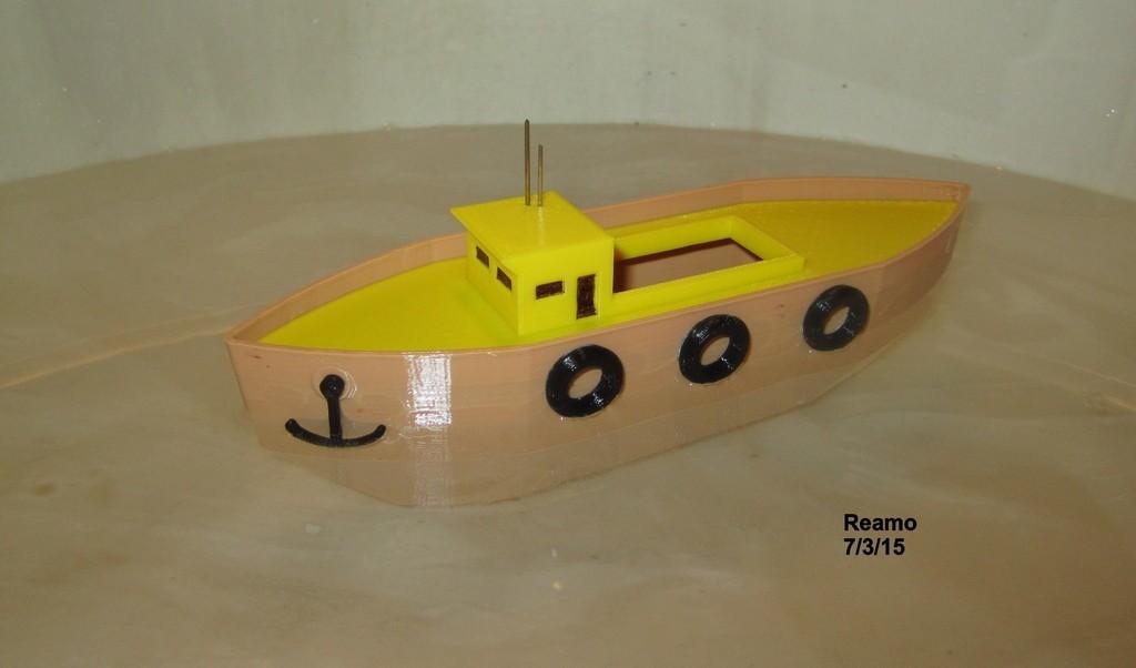 5_Buck_Boat_002_display_large.jpg Download free STL file 5 BUCK BOAT! • 3D printing object, Tarnliare