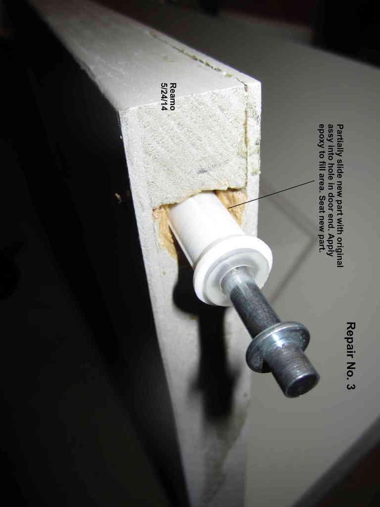 Repair_003-Large_Hole_004_display_large.jpg Download free STL file Five Closet Door Repairs! • 3D printer template, Tarnliare
