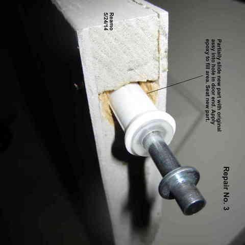 Repair_003-Large_Hole_004_display_large.jpg Télécharger fichier STL gratuit Cinq réparations de portes de placard ! • Modèle pour imprimante 3D, Tarnliare