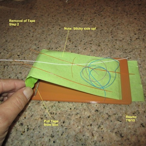 Debris_Tape_Mount_003_display_large.jpg Download free STL file Tape Mount to collect printer debris • Object to 3D print, Tarnliare