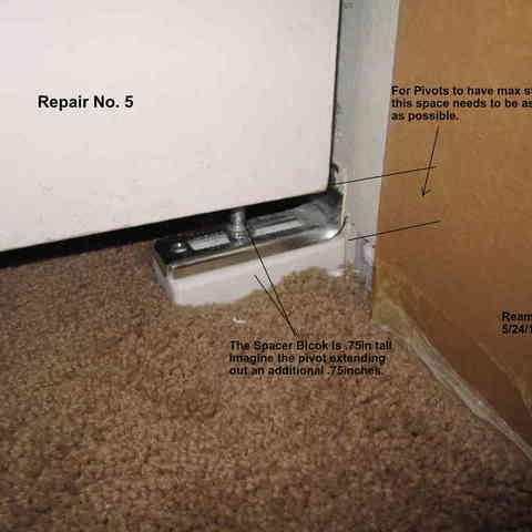 Repair_005-Spacer_Block_001_display_large.jpg Télécharger fichier STL gratuit Cinq réparations de portes de placard ! • Modèle pour imprimante 3D, Tarnliare