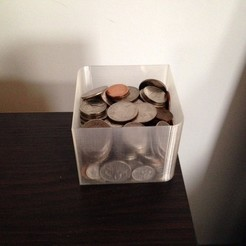 Free STL files Desk Change Holder, Tarnliare