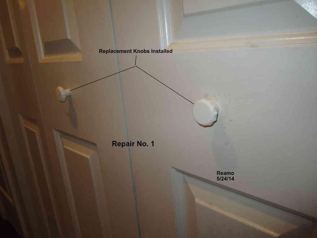 Repair_001-Knobs_002_display_large.jpg Download free STL file Five Closet Door Repairs! • 3D printer template, Tarnliare