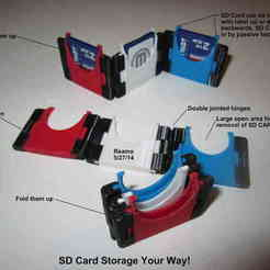 Free 3D print files SD Card Storage, Tarnliare
