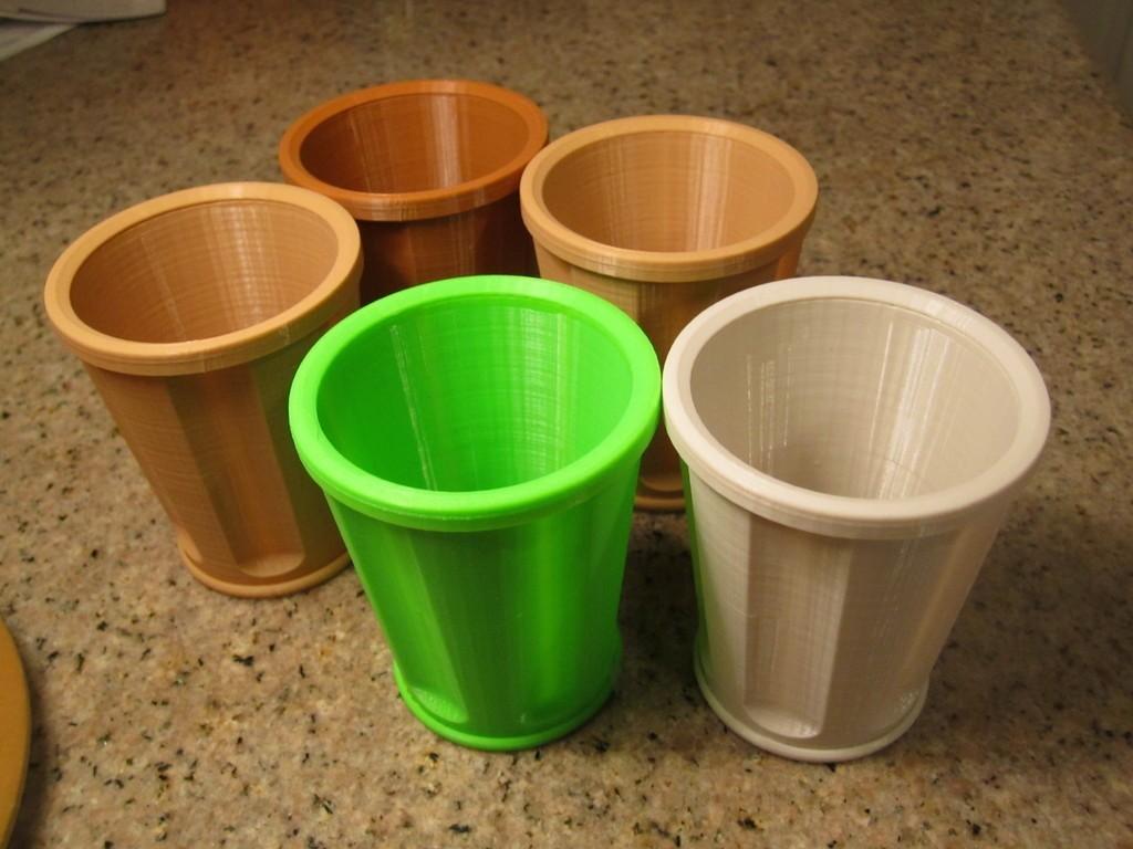 Dribble_Glass_003_display_large.jpg Download free STL file The Dribble Glass • 3D printer template, Tarnliare