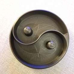 3D print files Yin & Yang nut bowl (refined), 3dhomeprint
