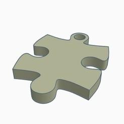 Llavero puzzle.jpg Télécharger fichier STL Porte-clés Puzzle • Objet à imprimer en 3D, DavidC93