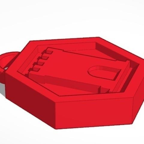 Télécharger fichier impression 3D Porte-clés tour, DavidC93