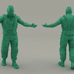 Download 3D printing templates Bane, Bandicoot