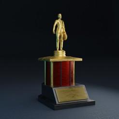 source355.jpg Télécharger fichier STL Prix Dundie • Objet pour impression 3D, Bandicoot