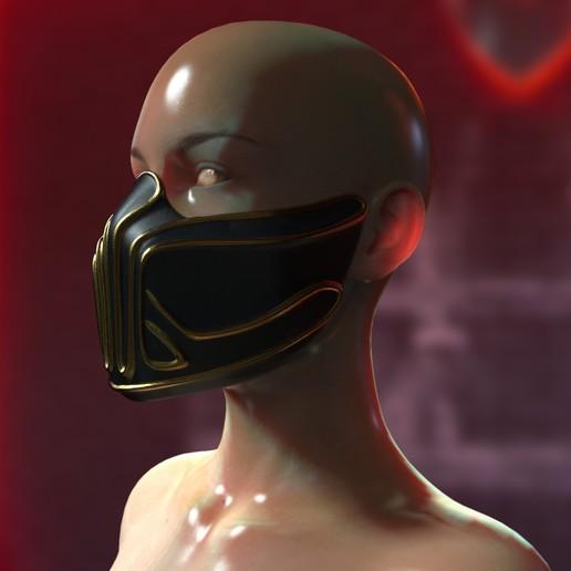 Download 3D printer files Krypt mask, Bandicoot