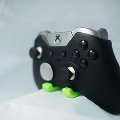 "Download 3D model Max's Xbox One Elite Wireless Controller Wall Mount - ""Proto X"", MizzrBear"