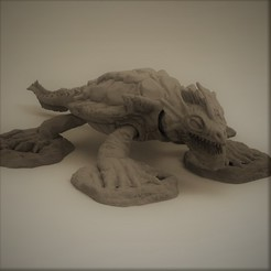 Download STL Dragon Turtle, Dragon-Workshop
