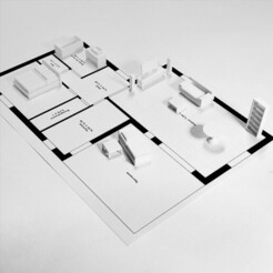 plan3.jpg Télécharger fichier STL Kit de Meubles en modèles réduits  • Design à imprimer en 3D, MakerJo