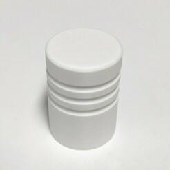 bouton 480.jpg Download STL file Door knob / furniture handle • 3D printer model, MakerJo