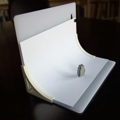 Download free 3D printing files Photographic set backdrop, MakerJo