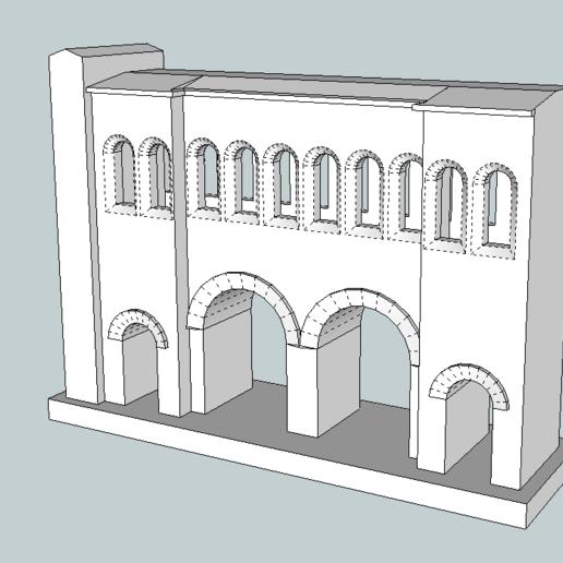 Porte_ST_Andre.png Télécharger fichier STL gratuit Porte Saint Andrée à Autun • Objet à imprimer en 3D, jpgillot2
