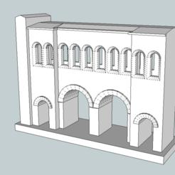 Download free 3D printer templates Porte Saint Andrée in Autun, jpgillot2
