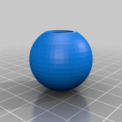 poignee_boule_M12.png Télécharger fichier STL gratuit poignée boule • Design pour imprimante 3D, jpgillot2