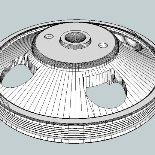 poulie_degau.png Télécharger fichier STL gratuit poulie degau • Design pour impression 3D, jpgillot2