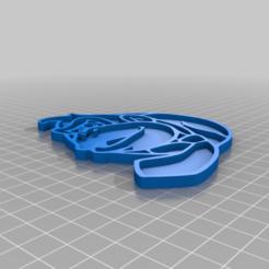 Download free 3D printing templates Badge Donkey Kong MKT, jpgillot2