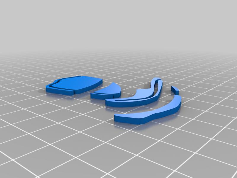 picsou_orange.png Télécharger fichier STL gratuit badge picsou • Design imprimable en 3D, jpgillot2