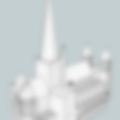 Cathedrale.stl Télécharger fichier STL gratuit Cathédrale Saint Lazare d'Autun • Plan imprimable en 3D, jpgillot2