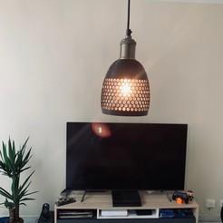 Fichier 3D gratuit Lampe Alvéolée, MickaJZI