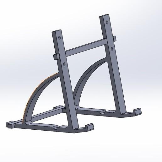 Download free STL file Photo frame holder • 3D printing design, anthonylecabellec