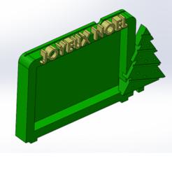 Descargar archivo 3D gratis Marco de fotos de Navidad 10x15, anthonylecabellec