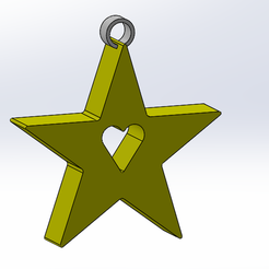 Free 3D model Christmas star, anthonylecabellec