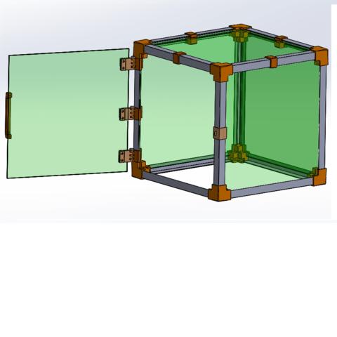 Free 3D printer designs Housing for 3D printer, anthonylecabellec