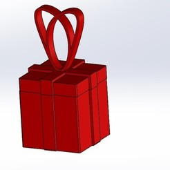 Download free 3D model Christmas gift, anthonylecabellec