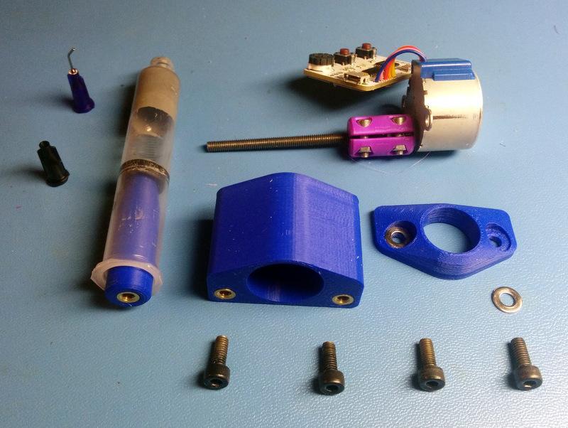 IMG_20151109_074401.jpg Download free SCAD file Arduino Motorized SMT Solder Paste Dispenser • 3D print template, cult3dp