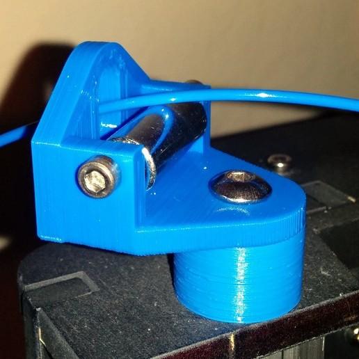 IMG_20150107_080238.jpg Download free SCAD file Makerfarm Prusa i3V spool holder • 3D printer design, cult3dp