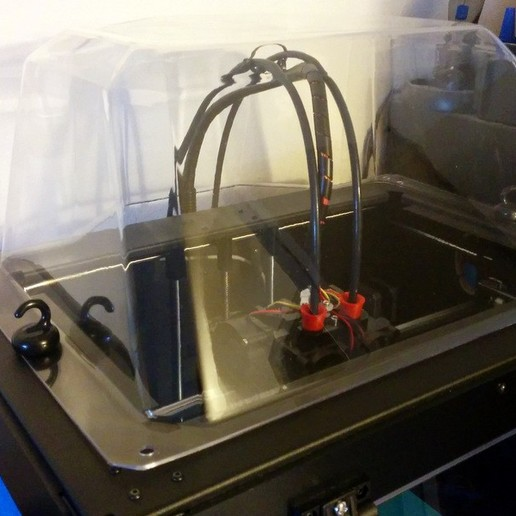 Télécharger fichier STL gratuit Dôme amélioré pour Flashforge Creator Pro • Modèle pour imprimante 3D, cult3dp