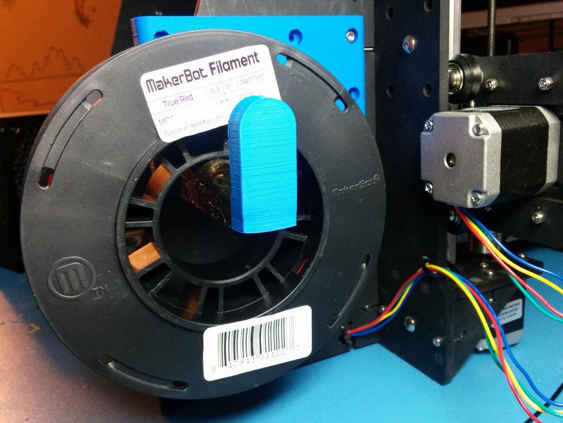 IMG_20150105_203643.jpg Download free SCAD file Makerfarm Prusa i3V spool holder • 3D printer design, cult3dp