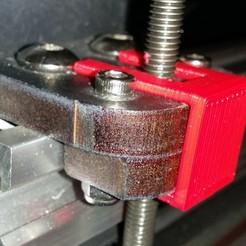 Télécharger plan imprimante 3D gatuit Makerfarm Prusa I3V Z Nut Clip, cult3dp