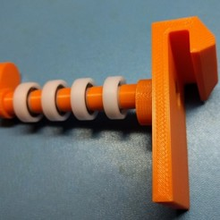Download free 3D printer designs Flashforge Creator Pro Super Duper Spool Hanger, cult3dp