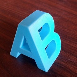 Download free 3D printing templates A/B, cult3dp